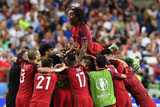 Esultanza Portogallo Eder